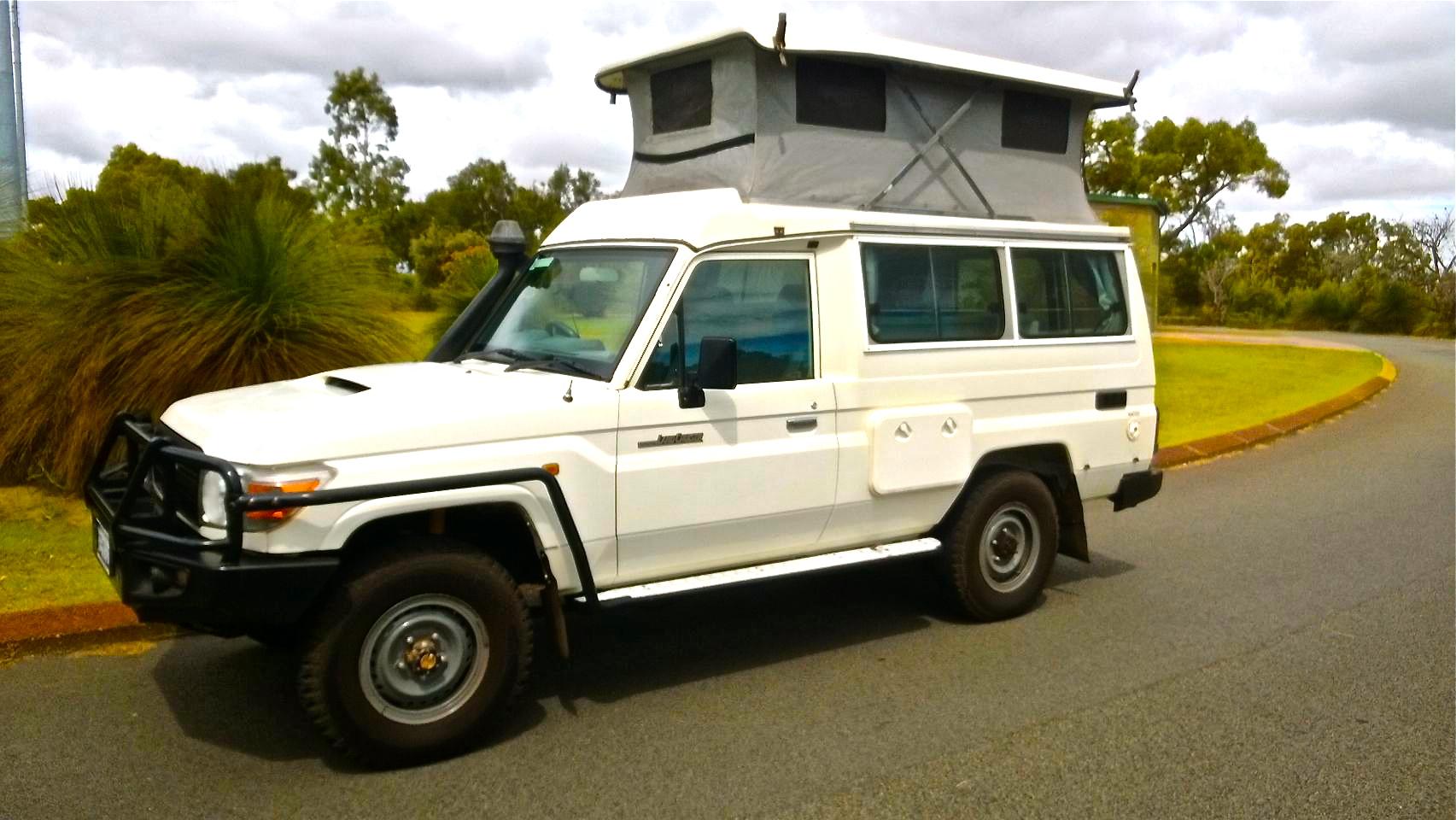 4WD Toyota Bushcamper